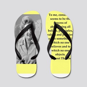 Margaret Thatcher quote Flip Flops