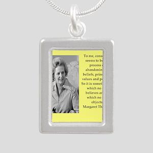 Margaret Thatcher quote Necklaces