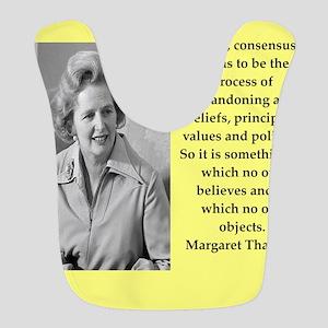 Margaret Thatcher quote Bib