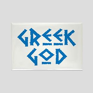 Greek God Rectangle Magnet