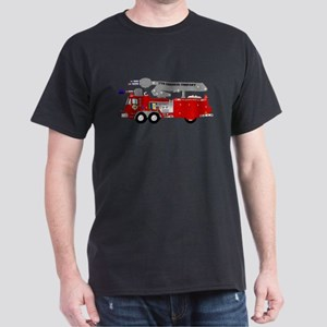 Asian Chemical Plant Fire Engine T-Shirt