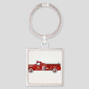 Fire Truck - Vintage fire truck. Keychains