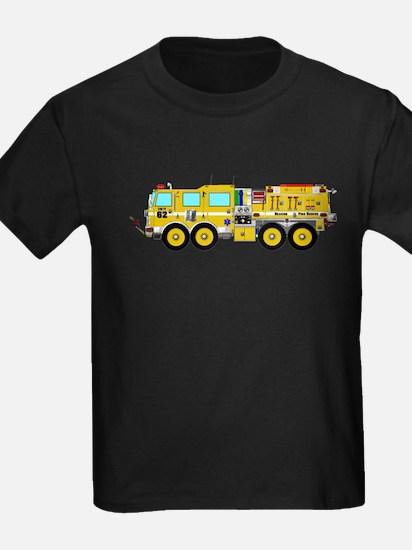 Fire Truck - Concept wild land yellow fire T-Shirt