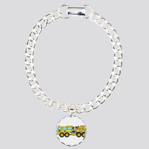 Fire Truck - Concept wil Charm Bracelet, One Charm