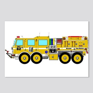 Fire Truck - Concept wild Postcards (Package of 8)