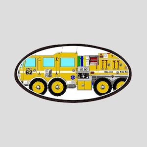 Fire Truck - Concept wild land yellow fire t Patch