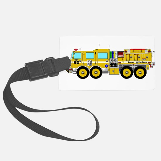Fire Truck - Concept wild land y Luggage Tag