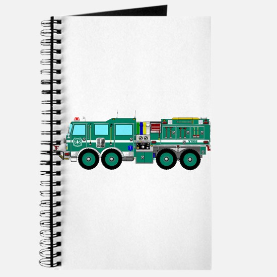 Fire Truck - Concept wild land green fire Journal