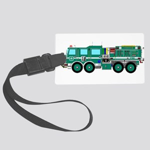 Fire Truck - Concept wild land g Large Luggage Tag