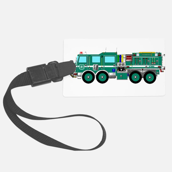Fire Truck - Concept wild land g Luggage Tag