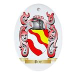 Prey Oval Ornament