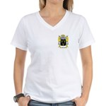 Preuss Women's V-Neck T-Shirt