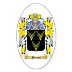 Preuss Sticker (Oval 10 pk)