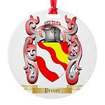 Preuer Round Ornament