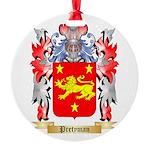 Pretyman Round Ornament