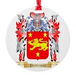 Prettyman Round Ornament