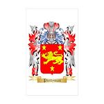 Prettyman Sticker (Rectangle 10 pk)