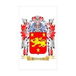 Prettyman Sticker (Rectangle 50 pk)