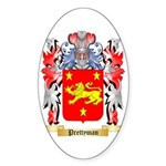Prettyman Sticker (Oval 10 pk)