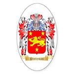Prettyman Sticker (Oval 50 pk)