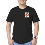 Preto Men's Fitted T-Shirt (dark)