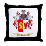 Preto Throw Pillow
