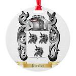 Preston Round Ornament