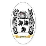 Preston Sticker (Oval)