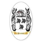 Preston Sticker (Oval 50 pk)
