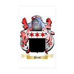 Prest Sticker (Rectangle 50 pk)