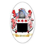 Prest Sticker (Oval 10 pk)