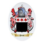 Prest Oval Ornament