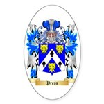 Press Sticker (Oval 50 pk)