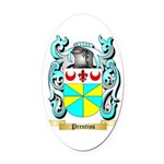 Prentiss Oval Car Magnet