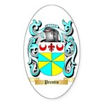 Prentis Sticker (Oval 50 pk)