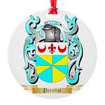 Prentice Round Ornament