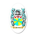 Prentice 20x12 Oval Wall Decal