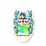 Prentice 35x21 Oval Wall Decal
