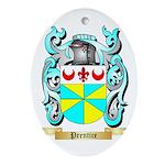 Prentice Oval Ornament