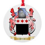 Preist Round Ornament