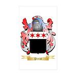 Preist Sticker (Rectangle 50 pk)