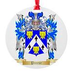 Preese Round Ornament