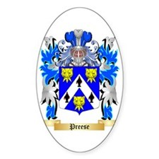 Preese Sticker (Oval)