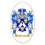 Preese Sticker (Oval 50 pk)