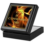 Our God Is A Consuming Fire Keepsake Box