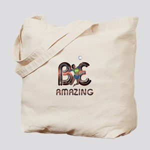 Be Amazing Volleyball Tote Bag