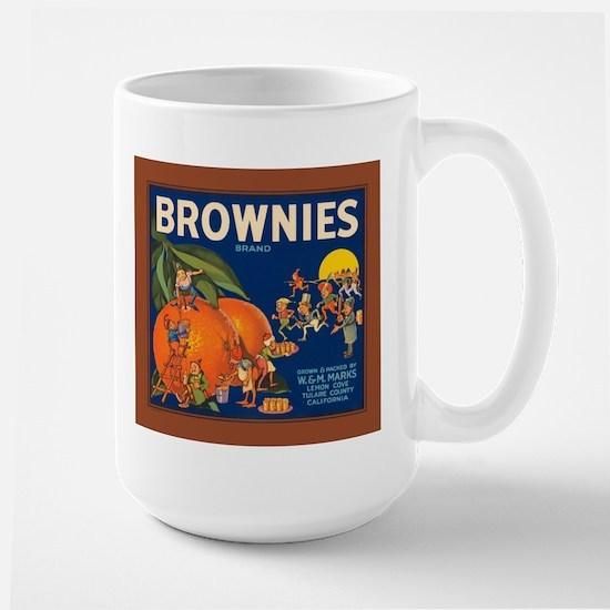 Vintage Brownies Company Frui Large Mug