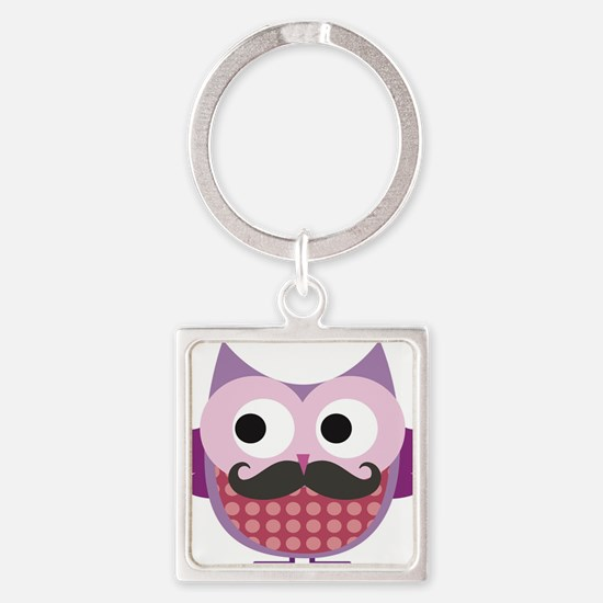 I mustache you....whoo do you love? Keychains
