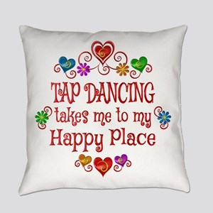 Tap Dancing Happy Place Everyday Pillow