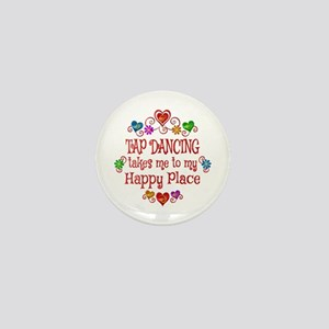 Tap Dancing Happy Place Mini Button